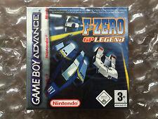 Nuevo Sellado De Fábrica F ZERO GP LEGEND para Nintendo Gameboy Advance F-Zero