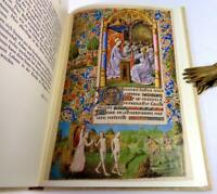 THE WHARNCLIFFE BOOK OF HOURS, FACSIMILE 1981, AS NEW
