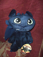 "LARGE 12"" HOW TO TRAIN YOUR DRAGON TOOTHLESS SOFT TOY PLUSH NEW TAGS"