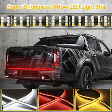 "60""  Triple Color LED Tailgate Light Brake Reverse Signal Light For Pickup Truck"