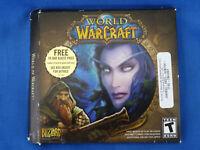 World of War Craft 5 CD Set PC Game 2005 Blizzard Entertainment  Windows MAC