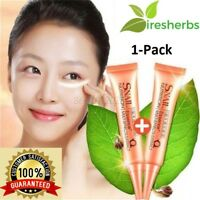 1Pack Snail Essence Cosmetics Skin Firming Moisturizing Extract Liquid Eye Cream