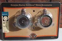 NEW Harley Davidson Fluted Fork Slider Dust Covers Part #46296-04 XL & Dyna
