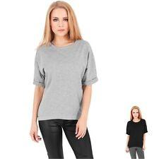 Feine Kurzarm Damen-Pullover ohne Verschluss