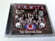 "FATAL OPERA ""THE ELEVENTH HOUR"" CD 14 TRACKS COMO NUEVO MEGADETH GAR SAMUELSON"