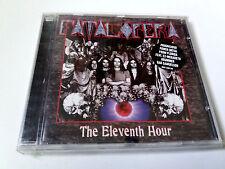 """FATAL OPERA """"THE ELEVENTH HOUR"""" CD 14 TRACKS COMO NUEVO MEGADETH GAR SAMUELSON"""