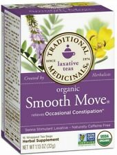 Organic Smooth Move Senna Tea by Traditional Medicinals