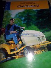 Cub Cadet Tractor Parts Manual/Catalog Model GT2554 and Series 2000 Brochure