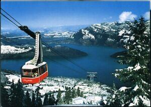 Postcard Luftseilbahn Beckenried-Klewenalp Beckenried Switzerland 1970/80s origi