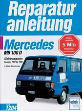 Mercedes MB 100 D 1987-1993 Reparturanleitung Jetzt helfe ich mir selbst Buch