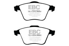EBC Redstuff Front Brake Pads for Volvo S40 2.5 Turbo T5 (2005 > 12)