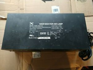 Gear Box 250w ballast for HID Metal Halide Lamp HQBJ-250LTC/C Aquarium Lighting
