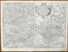 Just Natolia Olim Asia Minor Geographiae Universaetum Magini 1597 Asia Maps
