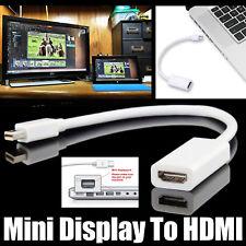 Mini DP auf HDMI Adapter DisplayPort Stecker Buchse Kabel für Macbook Air Mac