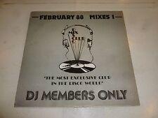 """DMC (LABEL) - February 88 - Mixes 1 - 1988 UK DMC DJ 12"""" Vinyl Single"""