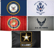 Wholesale Lot 5 3x5 Branches Military Usaf Uscg Usmc Army Navy Set Flag 3'x5' #5