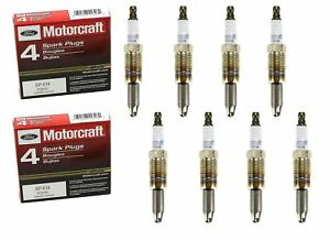 Genuine Ford Motorcraft  8 Spark Plugs SP-514/SP-547 PZH1F
