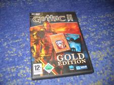 "Gothic 2 Gold Edition PC incl. Add-on ""la noche del cuervos"" en DVD funda"