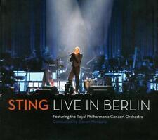STING - LIVE IN BERLIN [DIGIPAK] USED - VERY GOOD CD