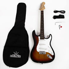 Glarry Sunset Basswood 6Strings Electric Guitar w/ Accessories Set for Beginner