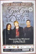 Goo Goo Dolls 2010 Gig Poster Bend Oregon Concert
