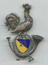 Insigne , 25 Bon. de Chasseurs Alpins ,  ( AB.dép. )