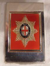"""""""The Life Guards United Kingdoom"""" Sterling Silver Emblem."""