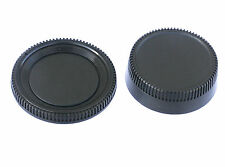 Rear Lens Cover + Camera Body Cap for Nikon DSLR replaces LF-1 BF-1B