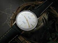 Watch Poljot de Luxs. Caliber 2209, 23 Jewels. USSR. Сase new, diameter 34.50 mm