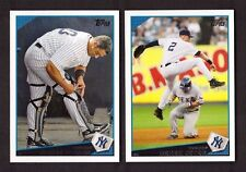2009 Topps NEW YORK YANKEES Team Set w/ Update 50 Cards 2009 World Series Champs