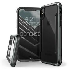 X-Doria Defense SCUDO extremschutz CASE ALLUMINIO PER IPHONE x nero