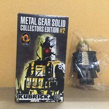 "Medicom Metal Gear Solid #2 Kubrick ""Liquid Snake"""