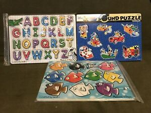 Melissa and Doug - Disney Sound, Alphabet, Fish Colors