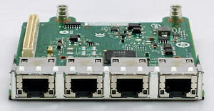 Dell Intel I350 Quad Port Gigabit Daughter Card R1XFC R620 R720