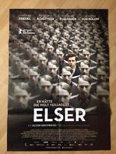 Filmposter * Kinoplakat * A1 * Elser * 2015 * Regie: Oliver Hirschbiegel