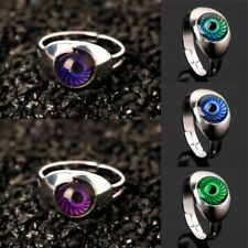 Magic Eye Shape Color Change Mood Ring Emotion Feeling Temperature Rings Women