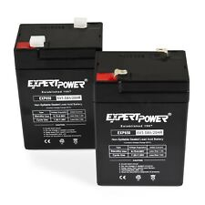 PACK OF 2 6V 5Ah (SEALED LEAD ACID) Batteries for Alarms, ATV's, Motorcycles