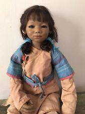 """35"""" Annette Himstedt doll 2005 limited ED 187/277  Kaschmiri  from Australia"""