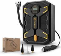 12V DC Portable Air Compressor Pump 150 PSI Digital Tire Inflator for Car Tires