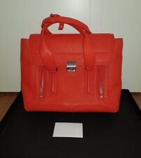 3.1 Phillip Lim Pashli Medium Satchel Vermillion Red Coral BNWT Designer Bag