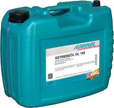ADDINOL Getriebeöl GL140 20 Liter (3,94€/L) API GL-3 SAE 140 Oldtimer 20L