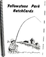 Yellowstone Park Fly Fishing Hatch Cards - Detailed Spiral Book