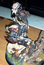 """15""""Predator with Axe on Dead Alien New Born Thai's Sculpture Resin Model Kit 1/5"""