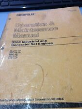 CAT CATERPILLAR 3208 Industrial , Generator OPERATION & MAINTENANCE BOOK MANUAL