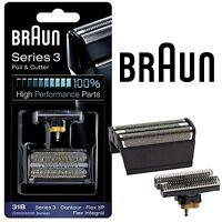 New Mens Braun 31B Replacement Foil & Cutter Head Combi Pack 5000 6000 Series