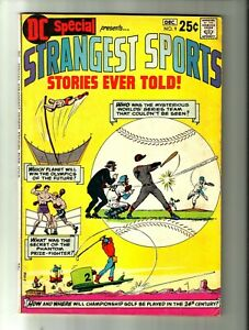 "STRANGEST SPORTS STORIES EVER TOLD #9 (1970, DC) Bronze Age Comic  ""Nuff Said"""