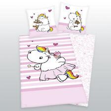ropa de cama pummelfee Liso pummeleinhorn Galletas Corazones 135 x 200