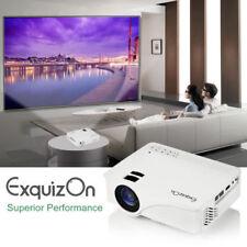Mini HD 1080p LED Projector Home Cinema Theater VGA USB AV HDMI SD Multimedia