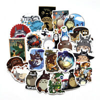 50pcs Cartoon Anime Totoro Sticker Decal for Skateboard Luggage Laptop Car Vinyl
