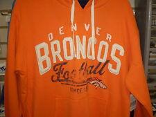 NFL CLASSIC GRIDIRON BRONCOS HOODED PULLOVER  HOODY HOODIE XXL XX 2X  NEW NWT